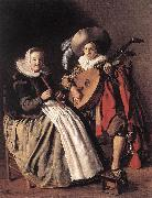 MOLENAER, Jan Miense The Duet ag oil painting artist